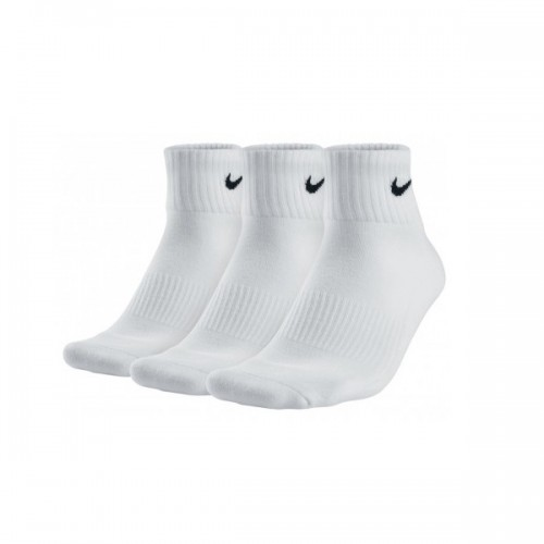 UNISEX CUSHION QUARTER TRAINING SOCK (3 PAIR) - NIKE - SX4926-101