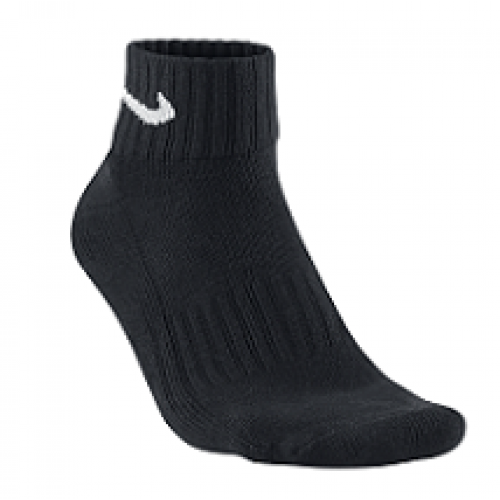 UNISEX CUSHION QUARTER TRAINING SOCK (3 PAIR) - NIKE - SX4926-001
