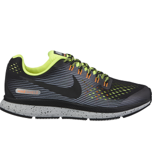 ZOOM PEGASUS 34 SHIELD (GS) - NIKE - 922850-001